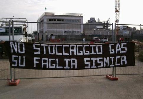 No stoccaggio gas a Bordolano