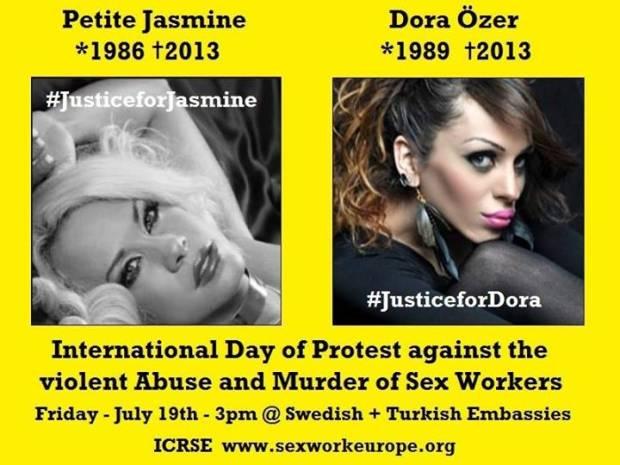 StigmaKills: protesta contro la violenza sulle #sexworkers