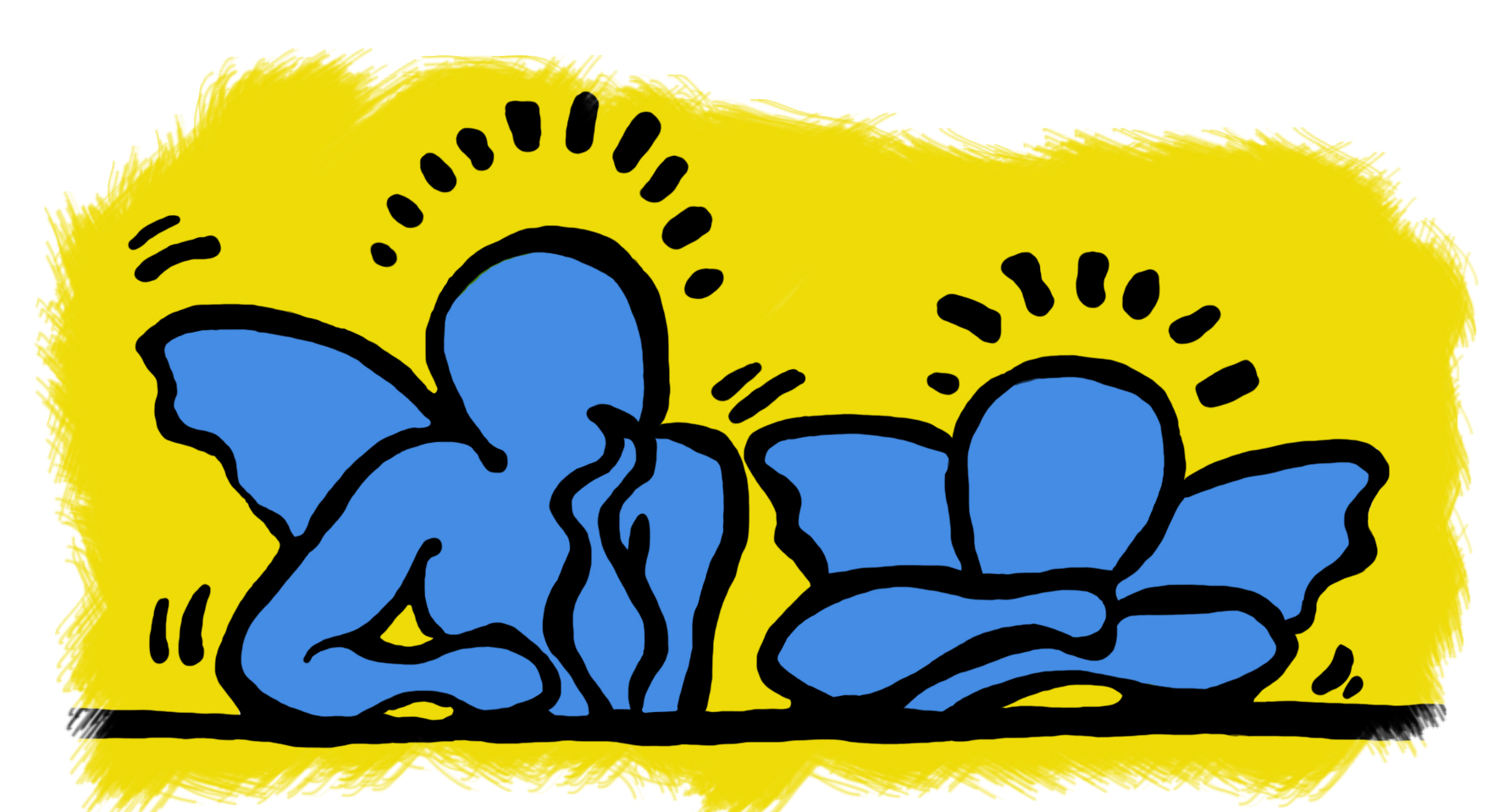 Keith Haring, Angels