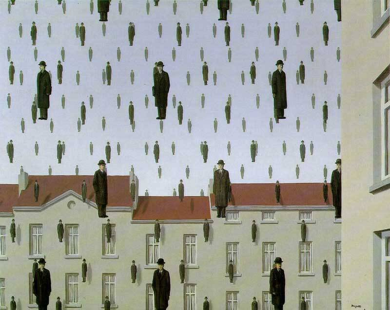 Magritte, Uomini